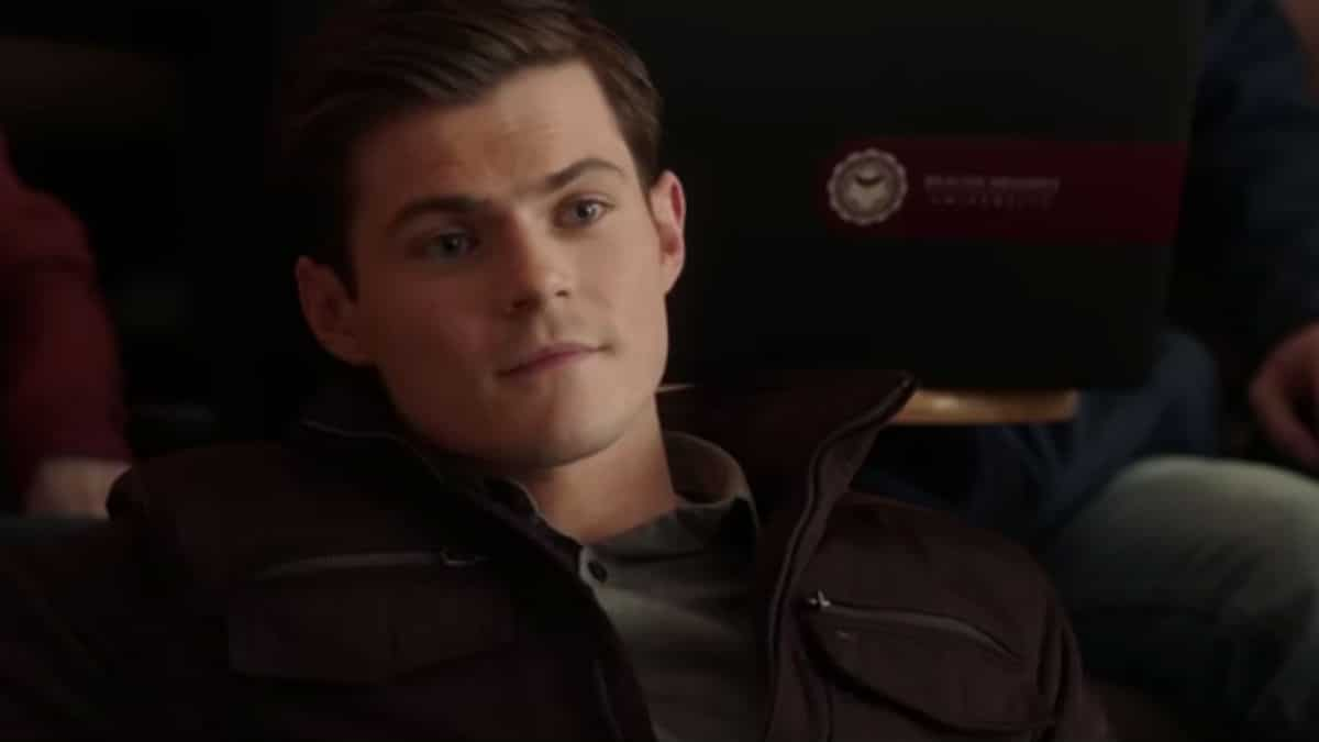 Chris Mason as Nolan Hotchkiss on Pretty Little Liars: The Perfectionists