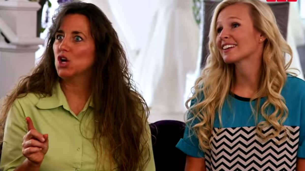 Michelle Duggar and Christina Caldwell on Counting On