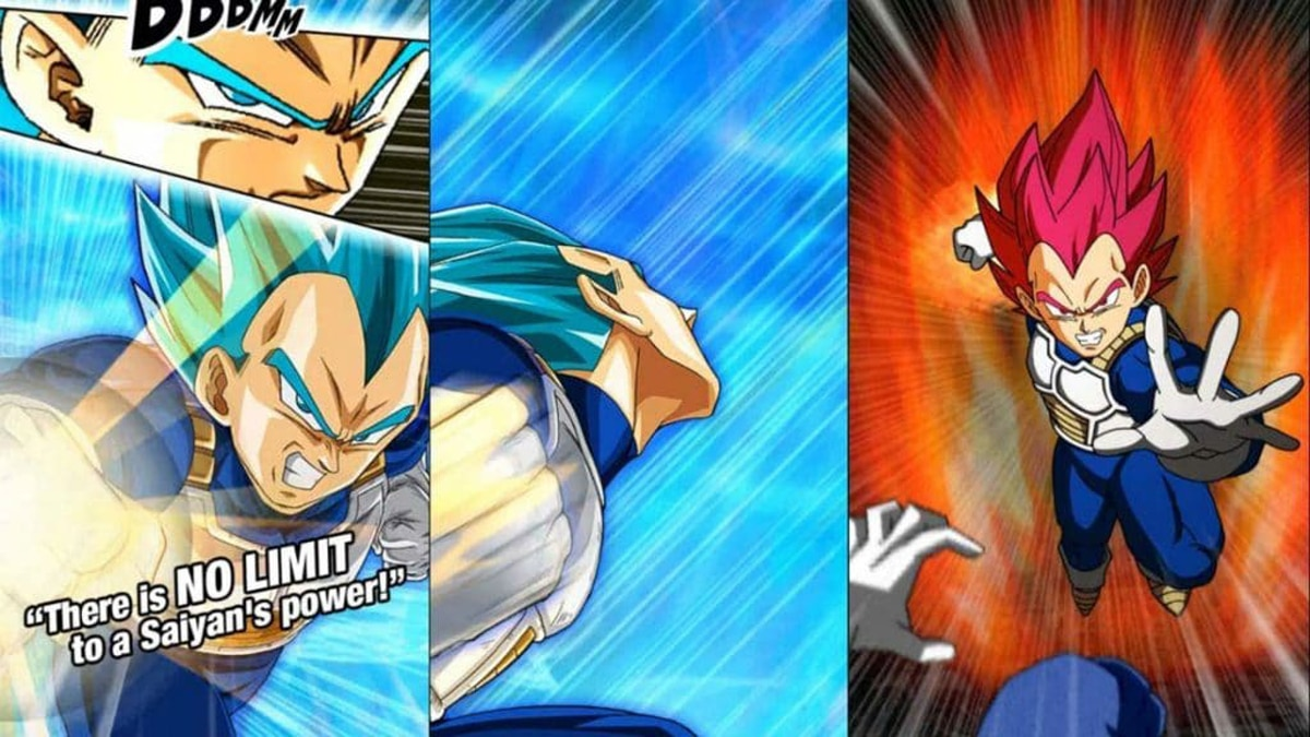 Dragon Ball Z Dokkan Transforming Vegeta card's super attacks shown for global JP battle game