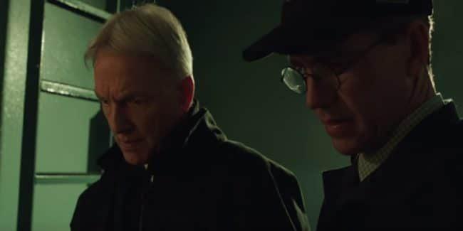 Gibbs and Palmer during Season 16, episode 17 of NCIS