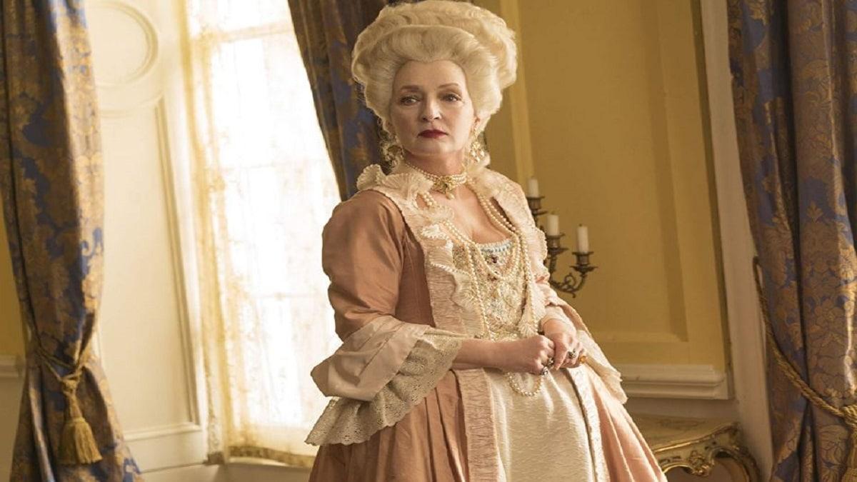 Harlots. Lesley Manville as Lidya Quigley