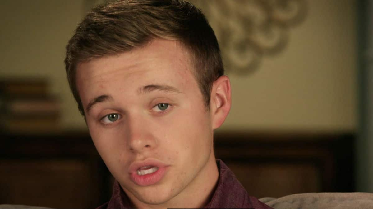 Jason Duggar during a Counting On confessional