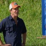 Jeff Probst hosting Survivor: Edge of Extinction