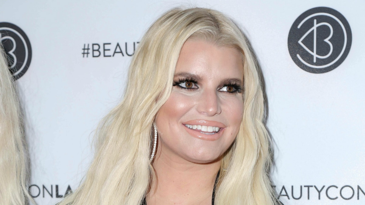 Jessica Simpson at the Beautycon Festival LA
