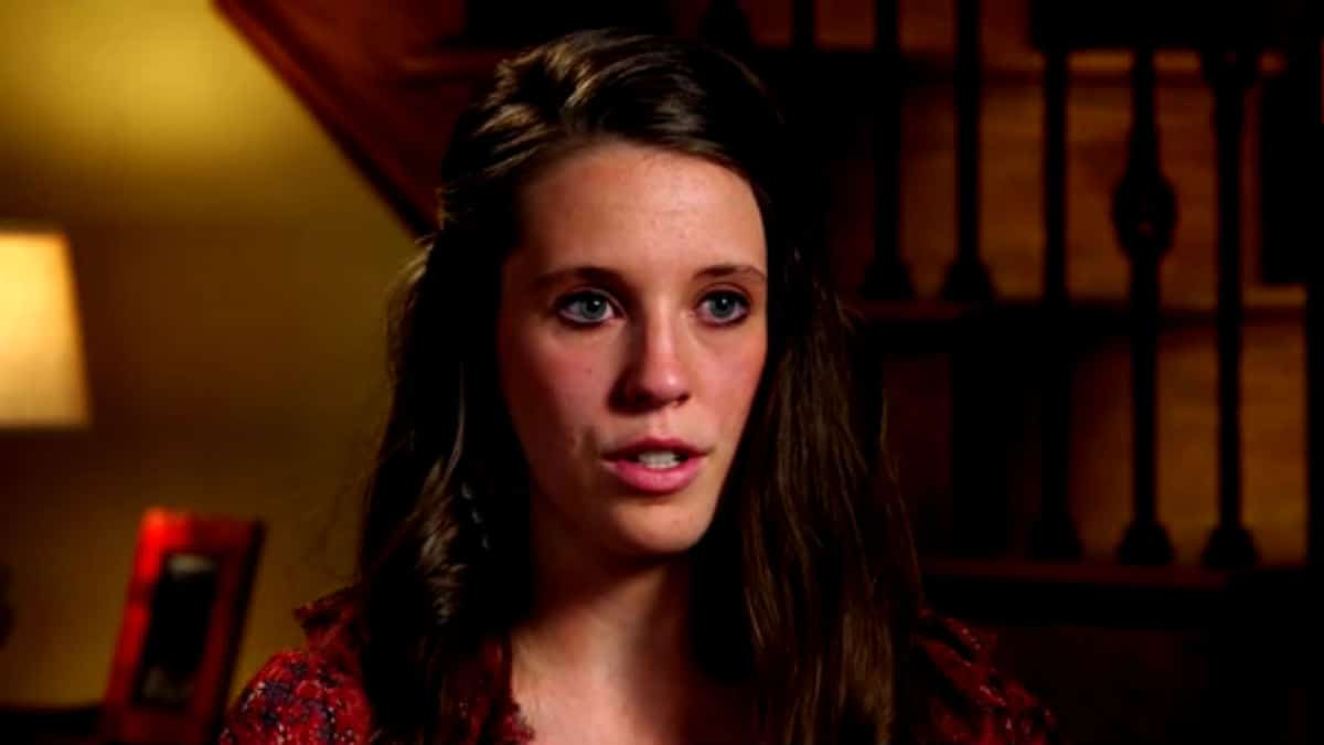 Jill Duggar during a confessional on Counting On