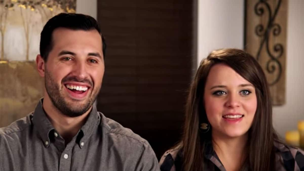 Jinger Duggar and Jeremy Vuolo in a Counting On confessional