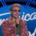 Jorgie during his audition on American Idol