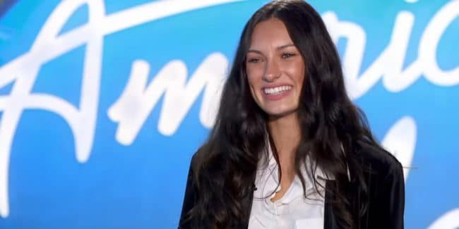 Katie Belle's audition on American Idol
