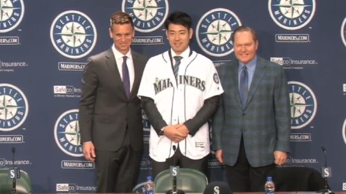 Yusei Kikuchi joins the Seattle Mariners