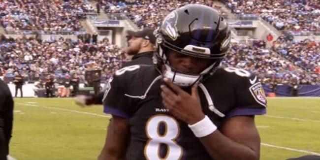 Lamar Jackson is the starting quarterback for the Baltimore Ravens