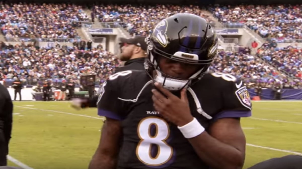 Lamar Jackson is the starting quarterback for the Baltimore Ravens