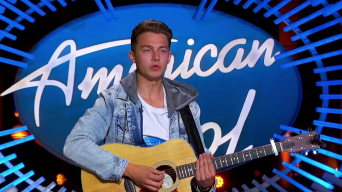 Logan Johnson on American Idol