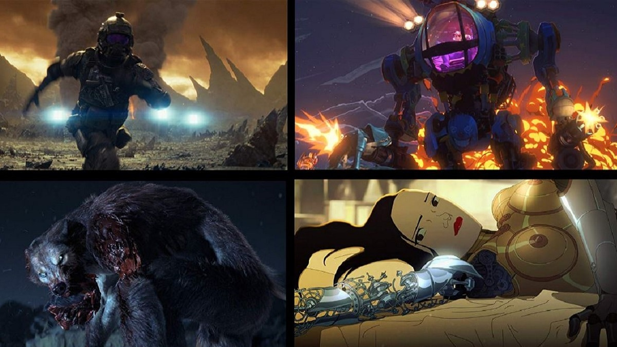 Love, Death & Robots on Netflix
