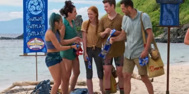 The Manu tribe on Survivor: Edge of Extinction