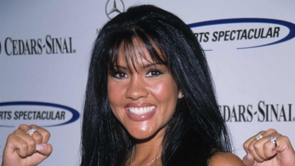 Mia St. John at Cedars-sanai Sports Spectacular Century Plaza Hotel Century City