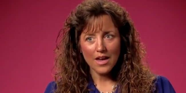 Michelle Duggar during a 19 Kids and Counting confessional