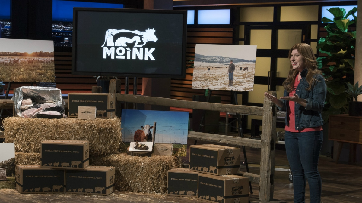 Lucinda Cramsey shares her vision for Moink on Shark Tank.