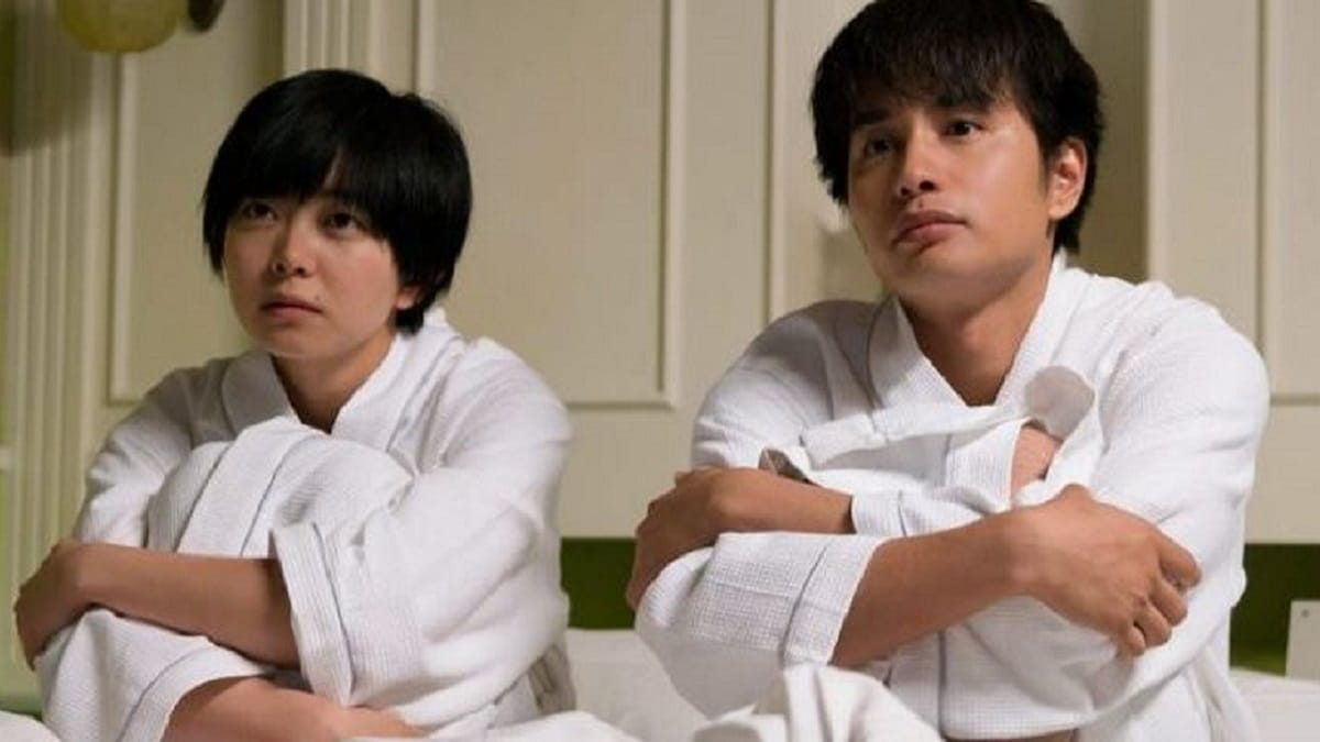 Natsumi Ishibashi as Kumiko, and Aoi Nakamura as Kenichi