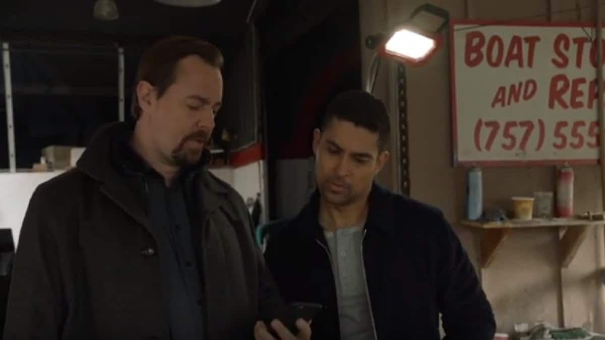 Sean Murray and Wilmer Valderrama on NCIS cast