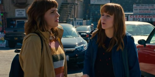 Sisters Nell and Sydney Jones on NCIS: Los Angeles cast.
