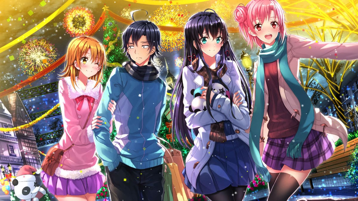 My Teen Romantic Comedy SNAFU anime artwork