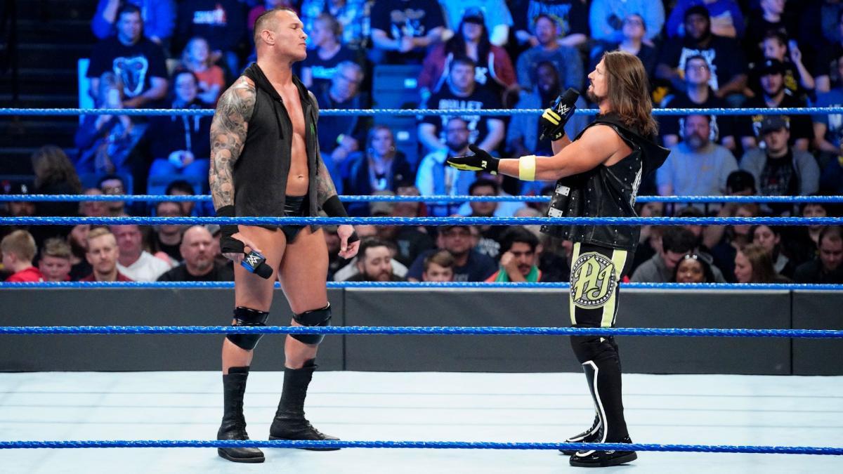 WWE reveals AJ Styles WrestleMania 35 opponent