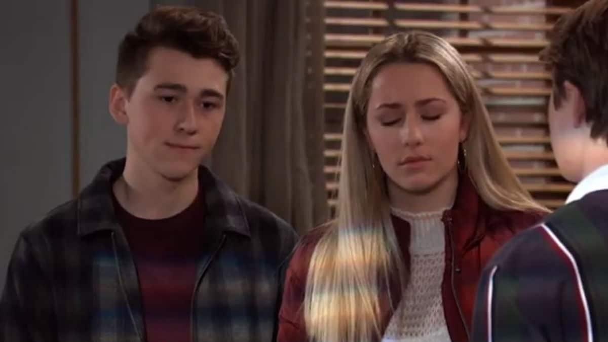 Garren Stitt and Eden McCoy as Oscar and Joss on General Hospital