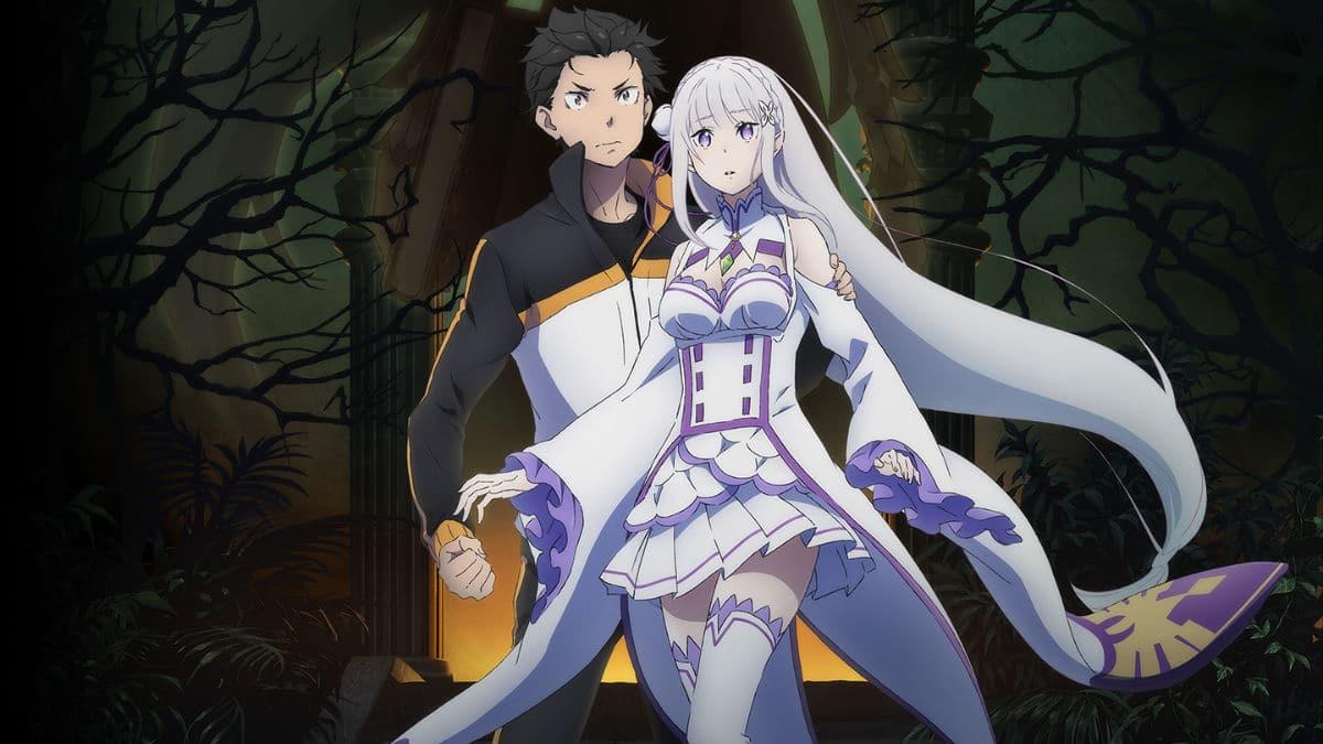 Re: Zero anime artwork
