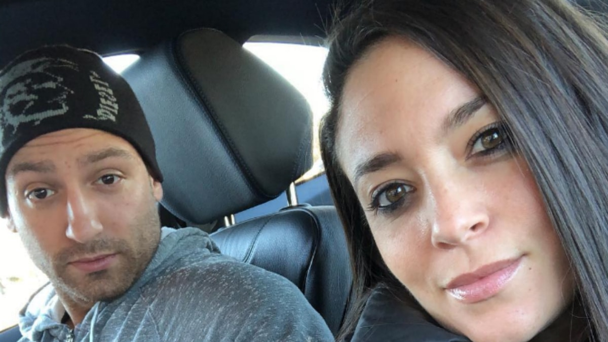 Sammi Sweetheart and her fiance Christian Biscardi