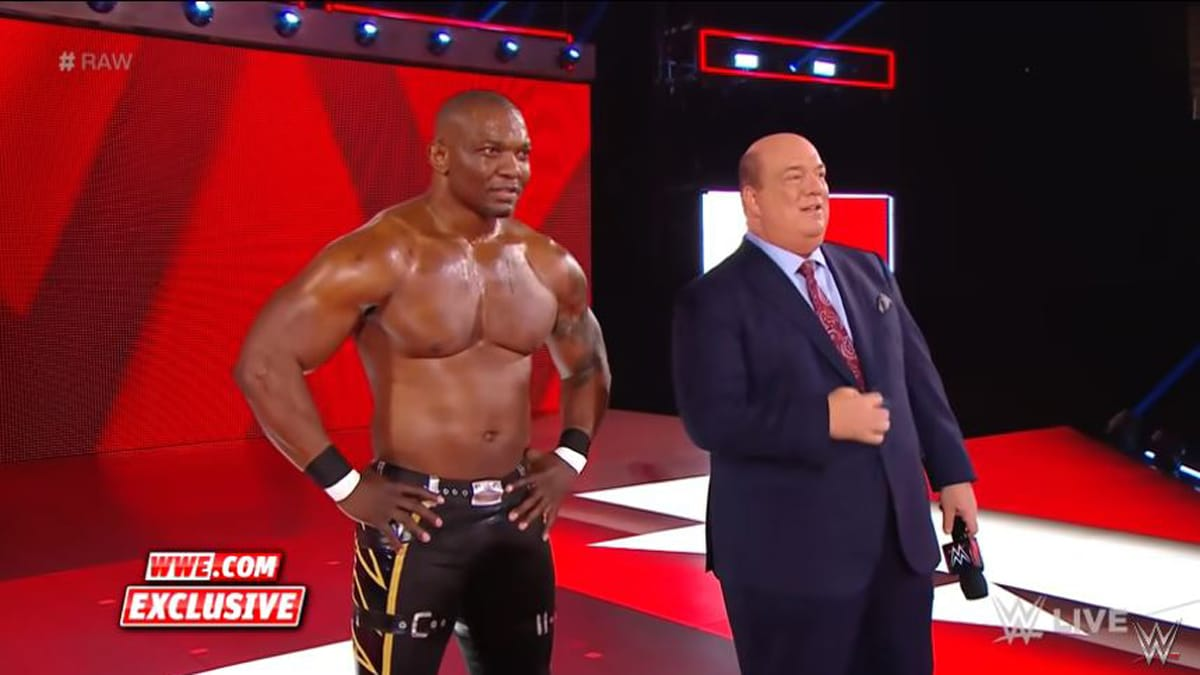 Who is Shelton Benjamin and what does he have to do with Brock Lesnar in WWE?