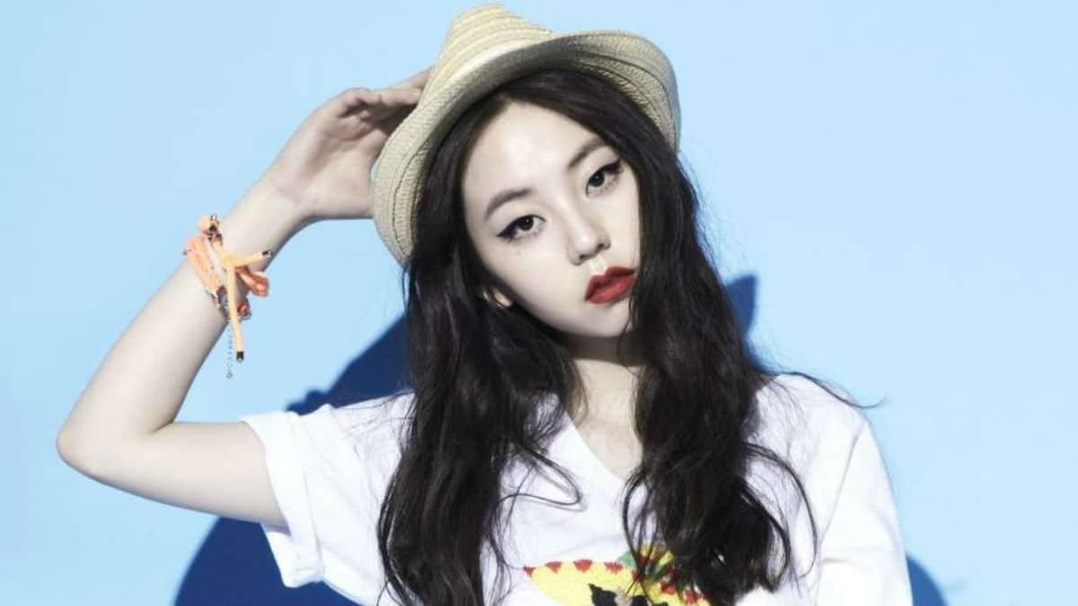 Sohee of Wonder Girls