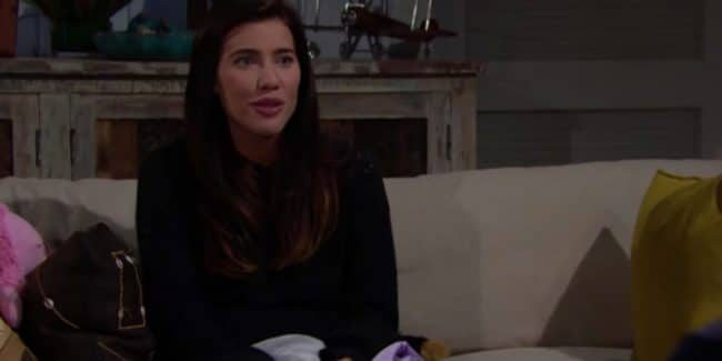 Jacqueline MacInnes Wood as Steffy Forrester on The Bold and the Beautiful