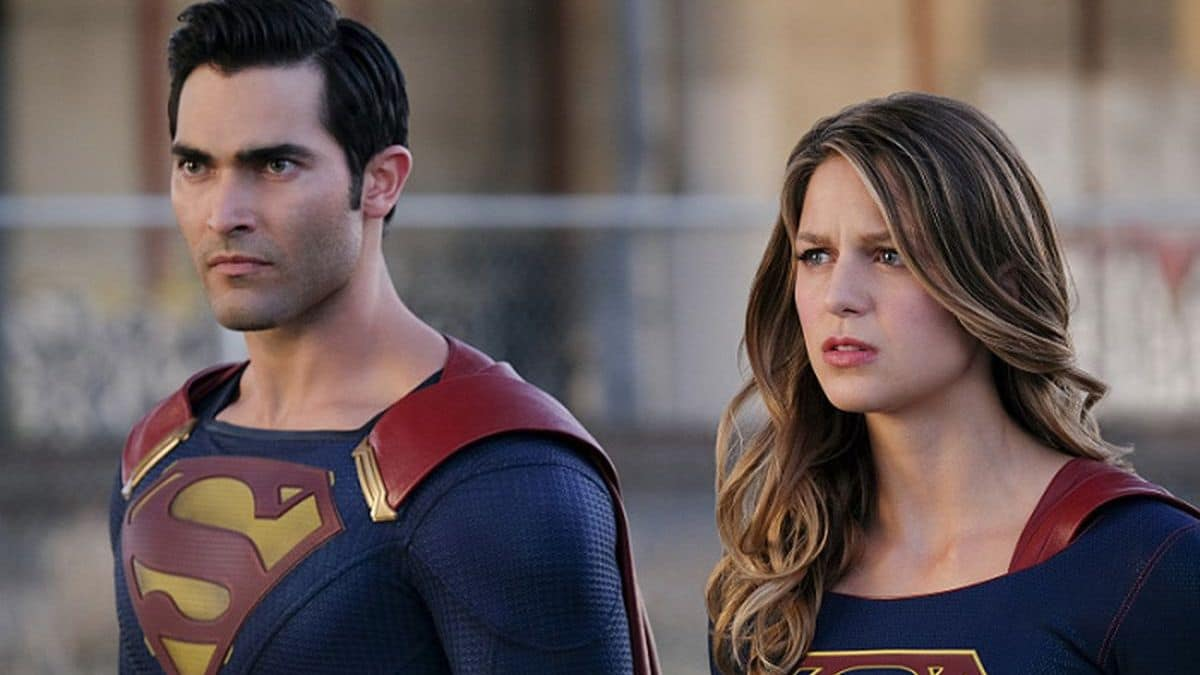 Superman and Supergirl on Supergirl on The CW