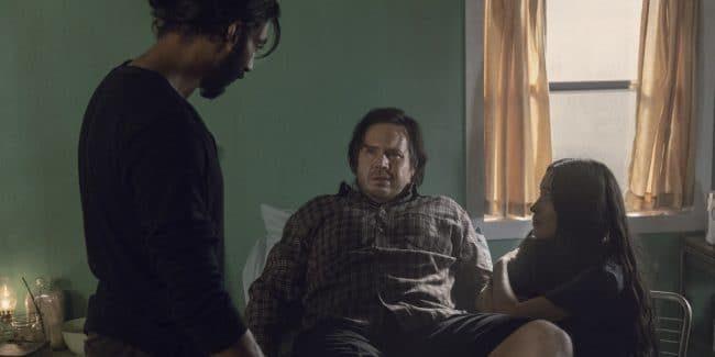 Walking Dead Rosita's baby father