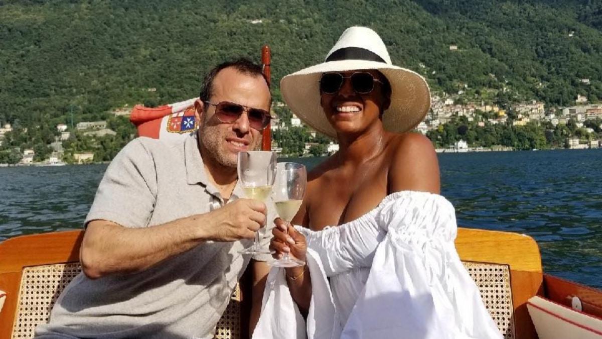 Tamron Hall and her husband