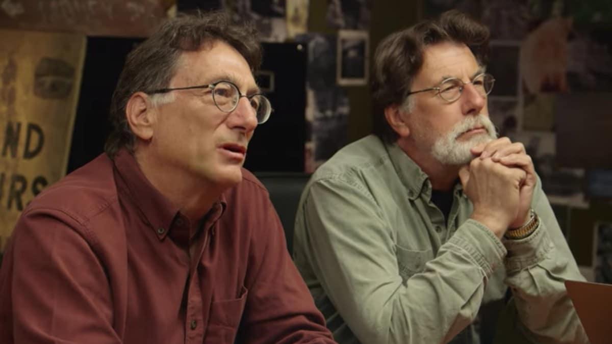 Marty and Rick Lagina on The Curse of Oak Island
