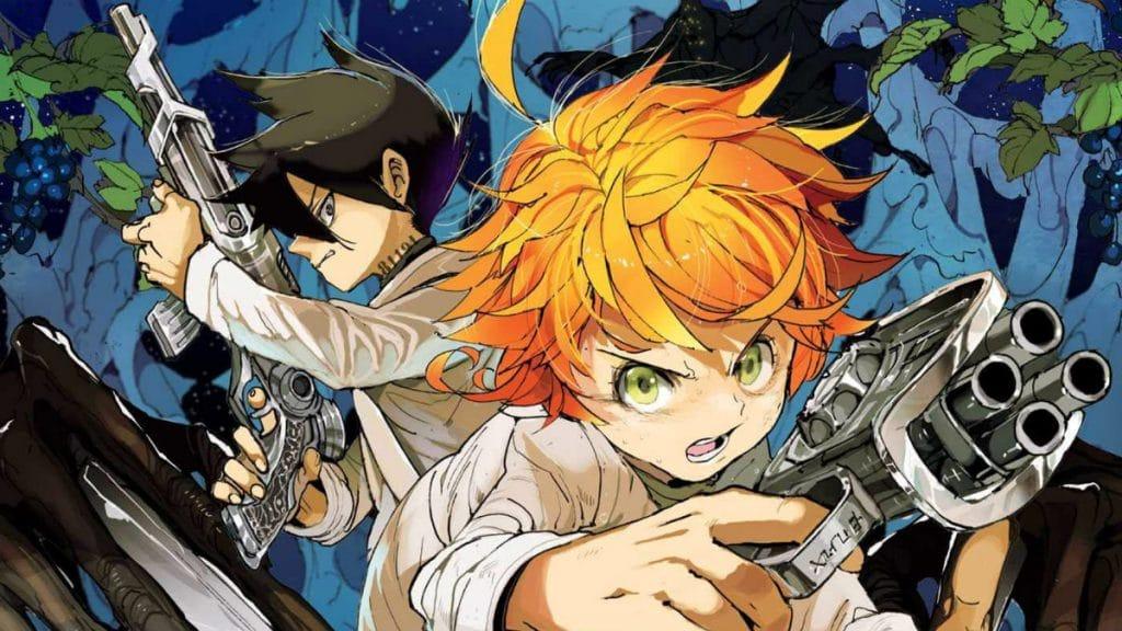 The Promised Neverland anime artwork