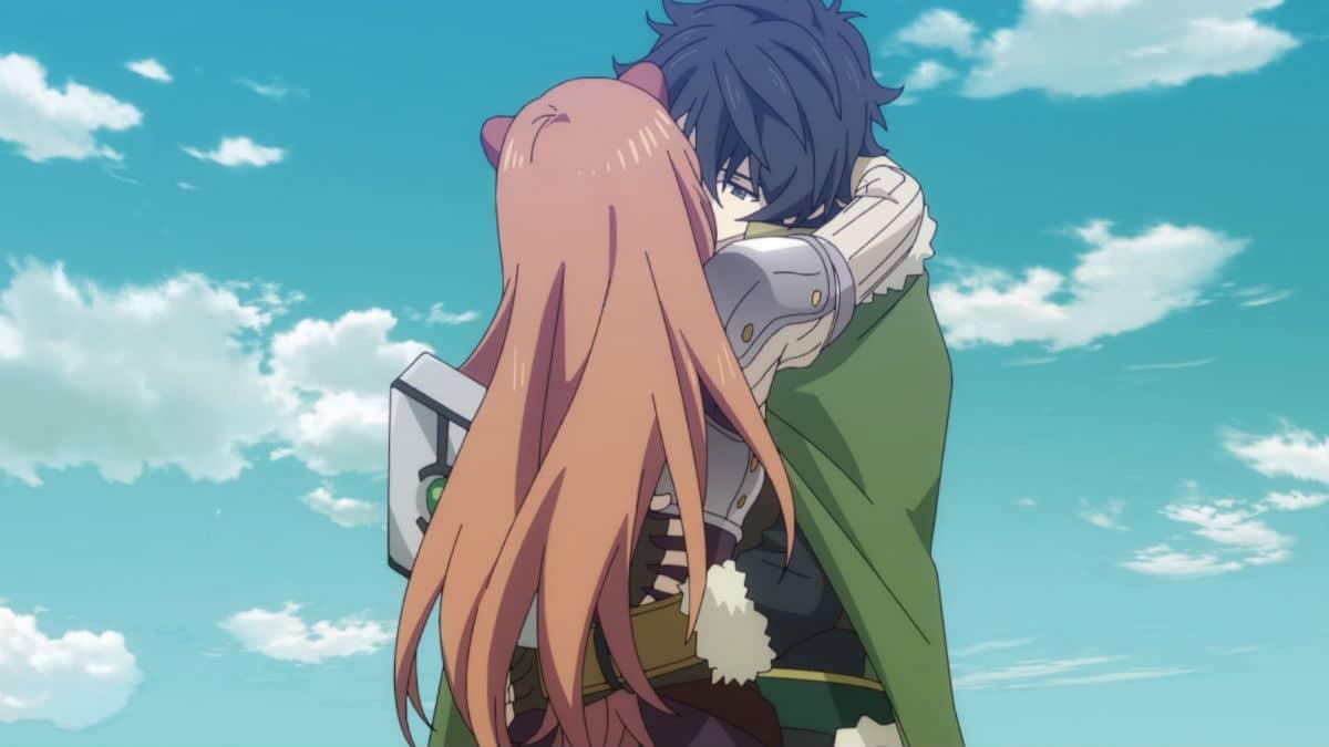 The Rising Of The Shield Hero Anime Naofumi Raphtalia Kissing