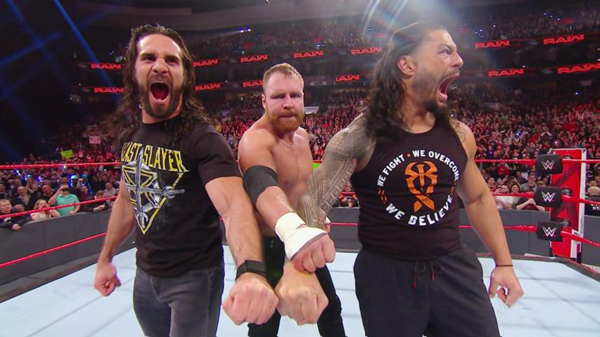The Shield officially reunites on Monday Night Raw, set up in a WWE Fastlane match