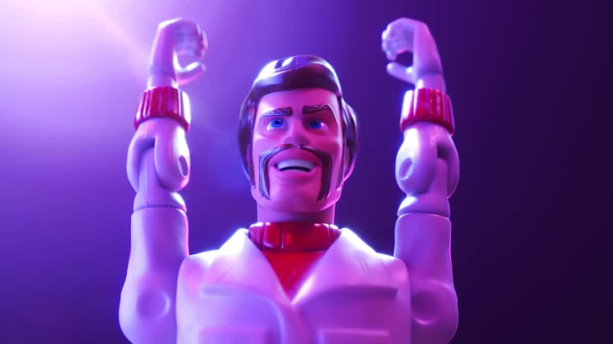 Toy Story 4 - Toy Story 4: Keanu Reeve's character is Duke Caboom