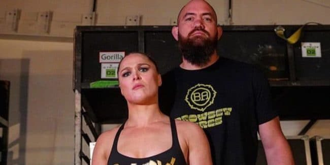 Who is Travis Browne in the WWE