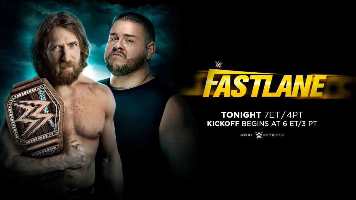 WWE Fastlane betting odds