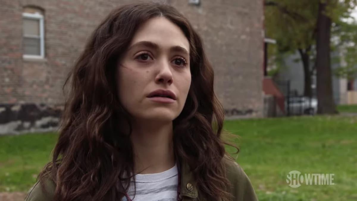 Emmy Rossum as Fiona Gallagher on Shameless