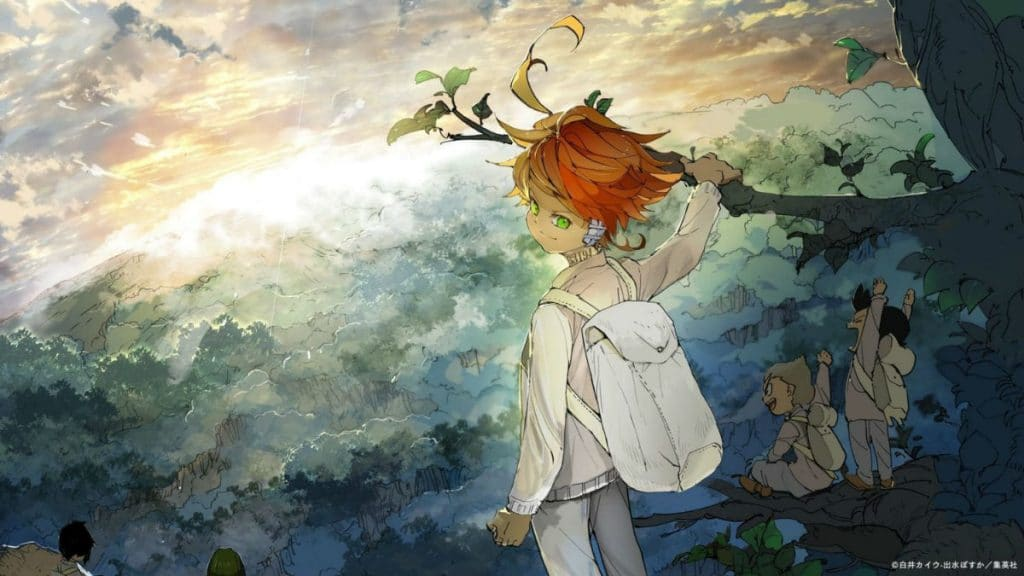 Yakusoku no Neverland artwork
