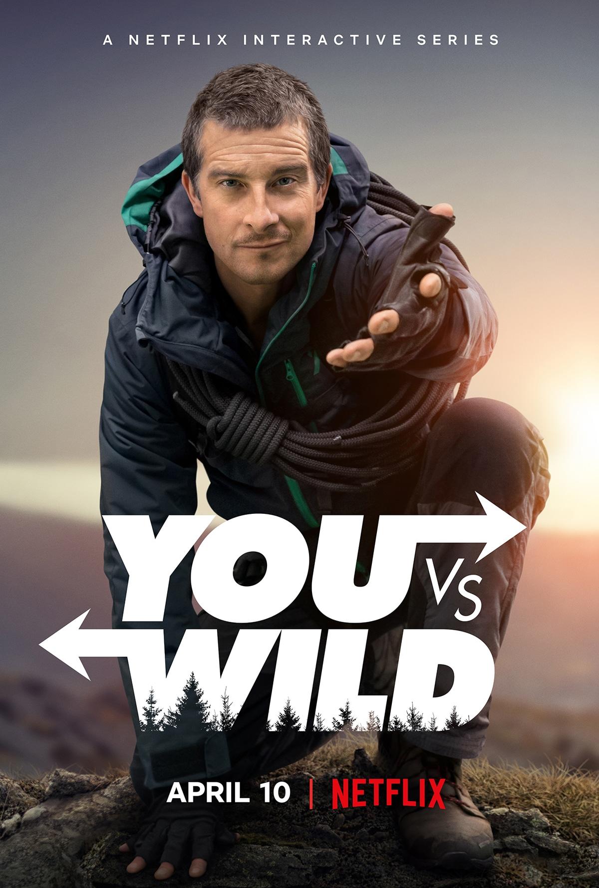 You vs. Wild Netflix with Bear Grylls trailer