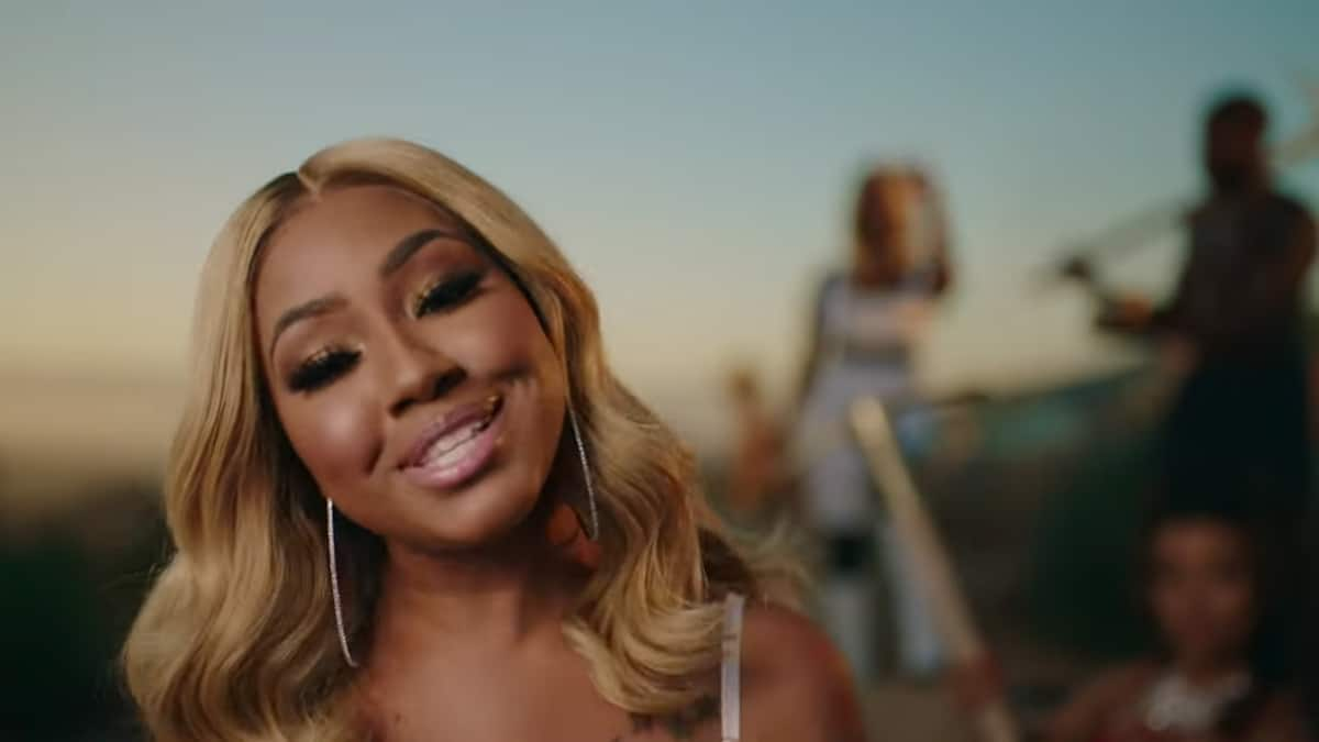 Yung Miami from the City Girls music video for Seasons