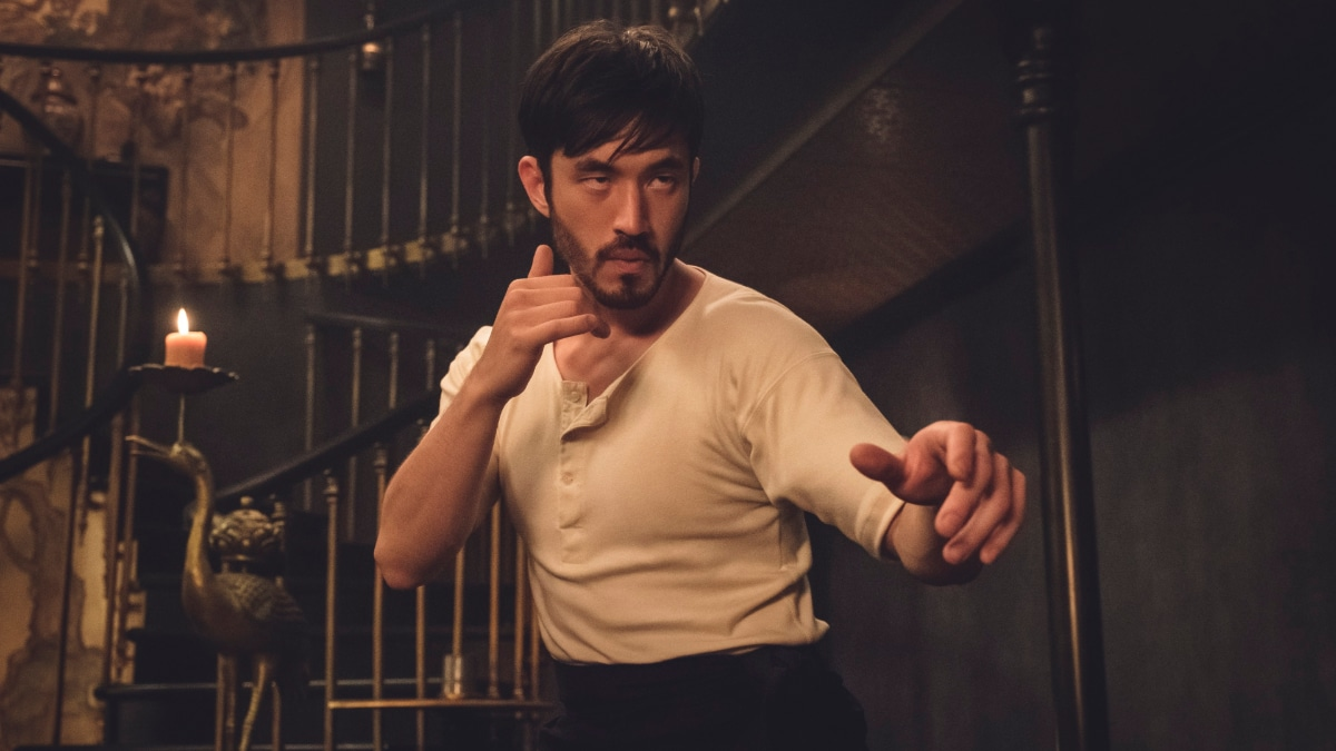 Andrew Koji plays the role originally intended for Bruce Lee in Warrior on Cinemax.
