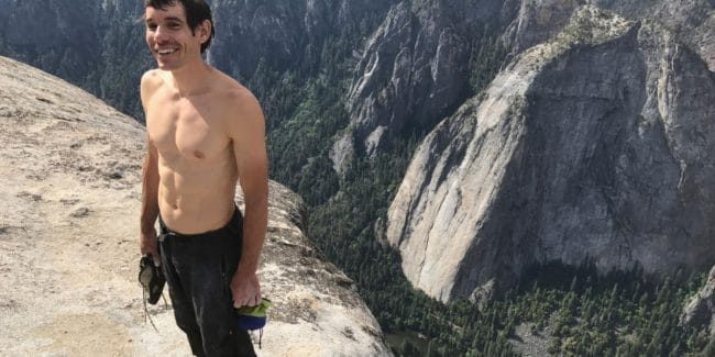 Exclusive: Alex Honnold of Free Solo on the climb of a lifetime, Nat Geo award-winning doc airs Sunday