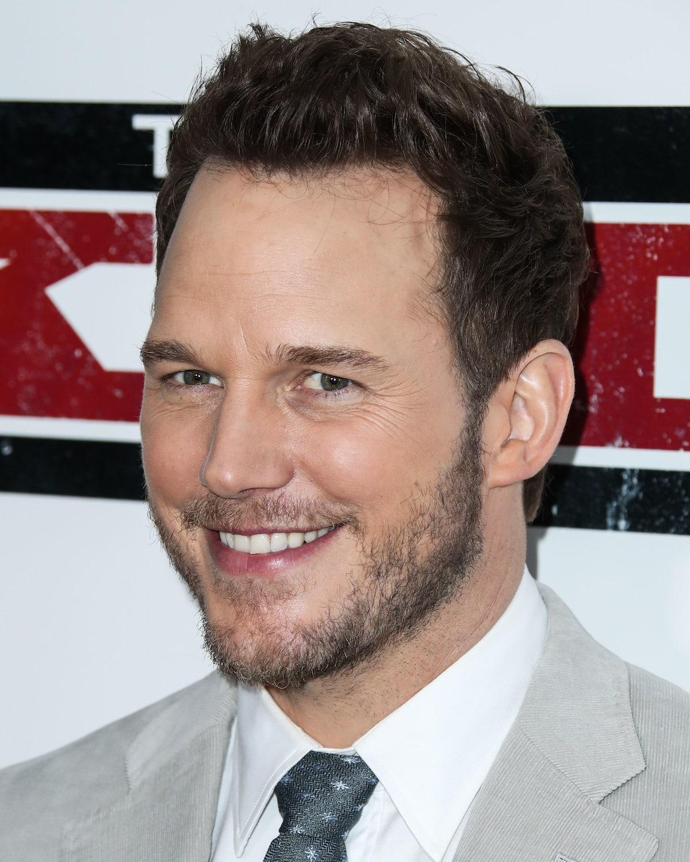 Chris Pratt smiling