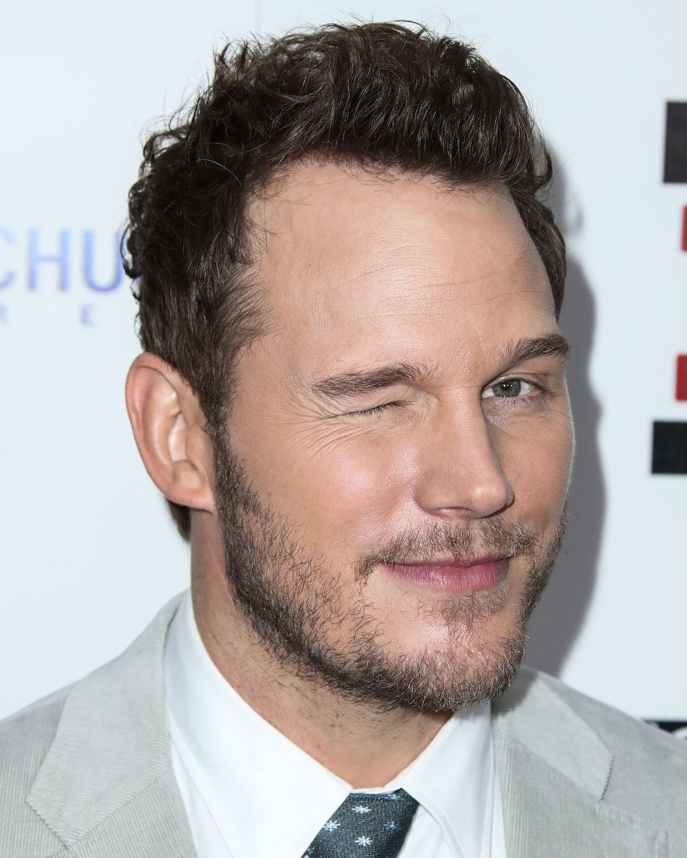Chris Pratt winking
